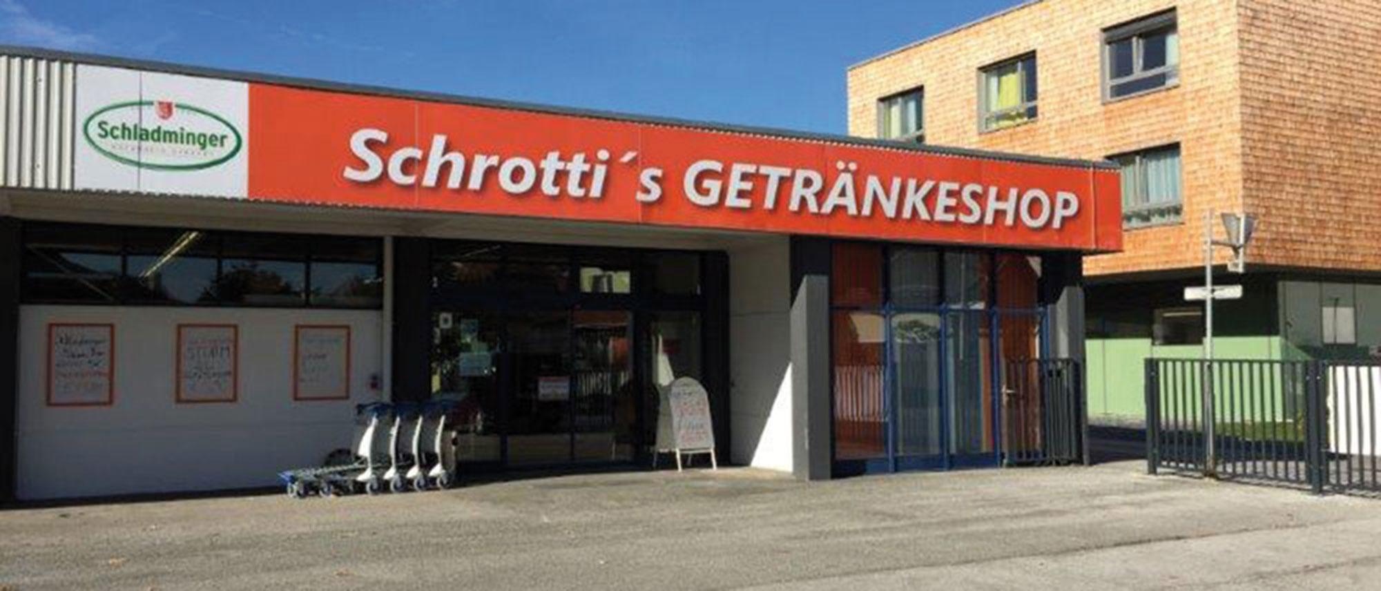 Getränkeshops - Schrotti\'s Getränkeshop in Stainach und Schladming